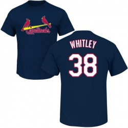 Men's Kodi Whitley St. Louis Cardinals Roster Name & Number T-Shirt - Navy